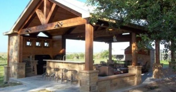 Creative Pergola Designs And Diy Options Outdoor Pavilion Patio Outdoor Kitchen