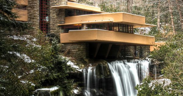 My dream House! Falling Water House, Pennsylvania, USA - project by Frank