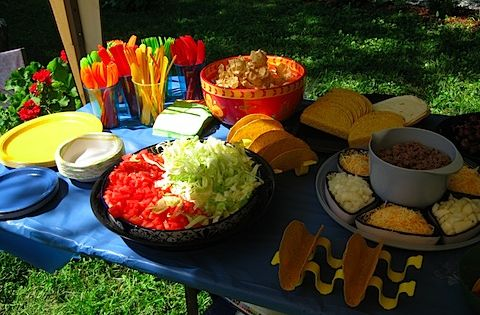 Mexican Food Buffet Ideas