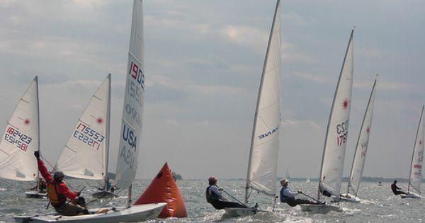 Greenwich Laser Racing Boat Sailing Racing