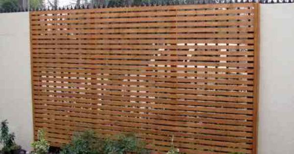 Cerca de madera para jard n cercos de madera pinterest - Cercas de madera ...