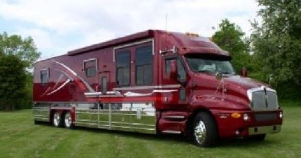 Now That S A Motorhome Updated Rv Truck Trucks Cool Rvs