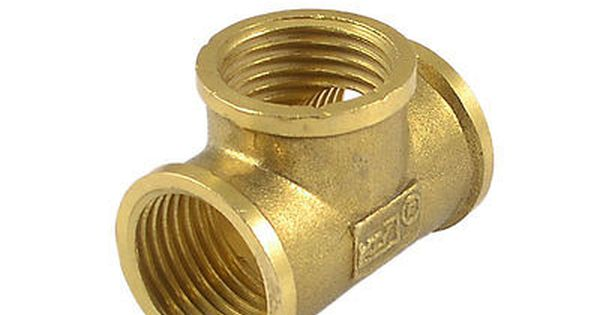 1 2 Npt Female Thread 3 Way Quick Connector Coupling Air Joint Bronze Tone Bronze Hardware Nespresso Cups