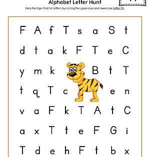 Alphabet Letter Hunt Letter T Worksheet Color Alphabet Letter Hunt Letter T Worksheets Lettering Alphabet