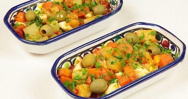 Recette slata broudou ommek houria avec les pommes de for Cuisine tunisienne