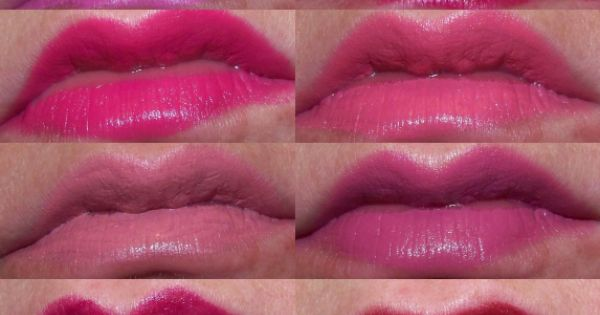 Wet n Wild lipsticks: Dollhouse Pink, Cherry Picking, Don't Blink Pink ...