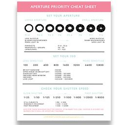 Settings Cheat Sheet Live Snap Love Cheat Sheets Cheating Learning Photography