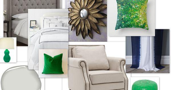 Kelly green bedroom design ocd blog projects pinterest for Kelly green decor