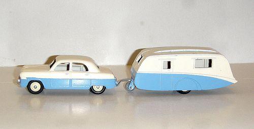 Dinky Toys 162 Ford Zephyr Et Caravane 190 Toys Corgi Toys