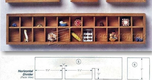 Build Shadow Box - Woodworking Plans and Projects  WoodArchivist.com  Wood Furniture ...