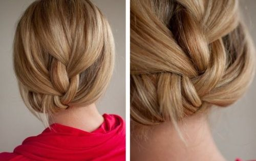 Love this braid...can I do this with short hair?