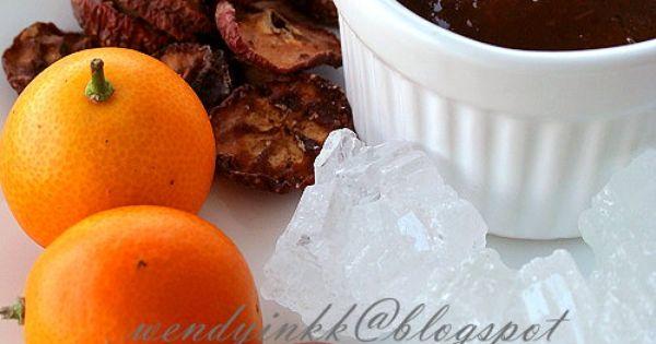 Table for 2.... or more: Homemade Yee Sang Sauce - Kumquat #3 ...
