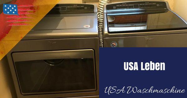Video Waschmaschine Usa Waschmaschine Wasche Und Auswandern Usa