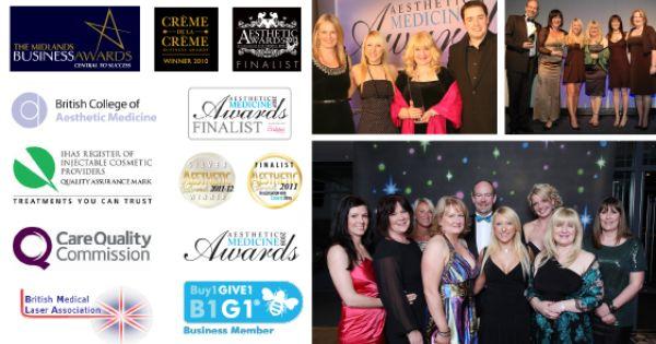 Award Winning Medizen Cosmetic Clinic Sutton Coldfield Cosmetic Clinic Clinic Business Awards