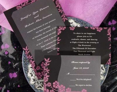 pink wedding invitations | Pink Wedding Invitations | Pinterest | Online wedding invitation ...