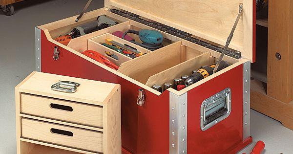 caisse outil bois pinterest mad re plans de travail en bois et bo te outils. Black Bedroom Furniture Sets. Home Design Ideas