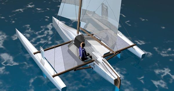 Trimaran Boat Design | PDF Diy Trimaran boat cradle plans | Sailboats | Pinterest | Boat design ...