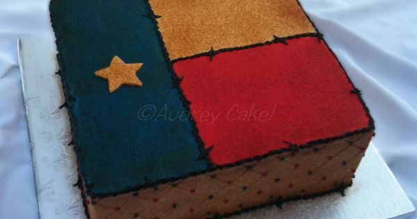 Antique Texas Flag Birthday Cake | Flickr - Photo Sharing ...