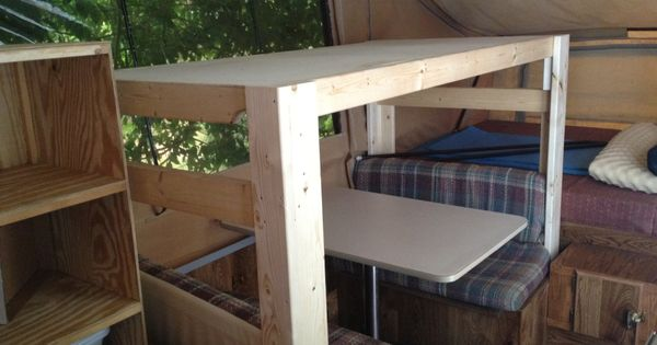 Add A Bunk To The Dinette To Sleep An Extra Child