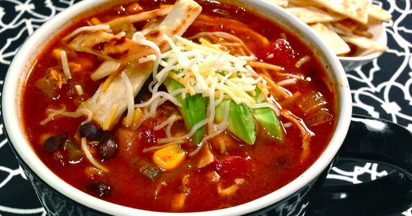 Chicken tortilla soup, Tortilla soup and Tortillas on Pinterest