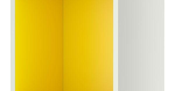 Offenes Regal Ikea : ikea tutemo regal wei gelb 40x37x40 cm kann als ~ Michelbontemps.com Haus und Dekorationen