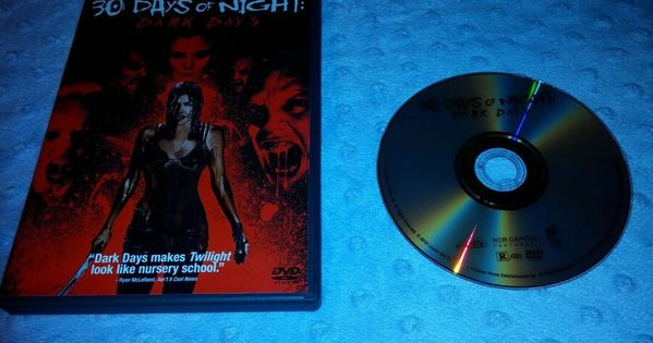 30 Days Of Night Dark Days Dvd 2010 Halloween Horror