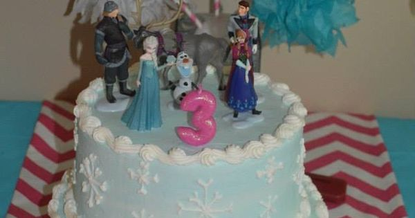 Frozen cake frozen and cakes on pinterest