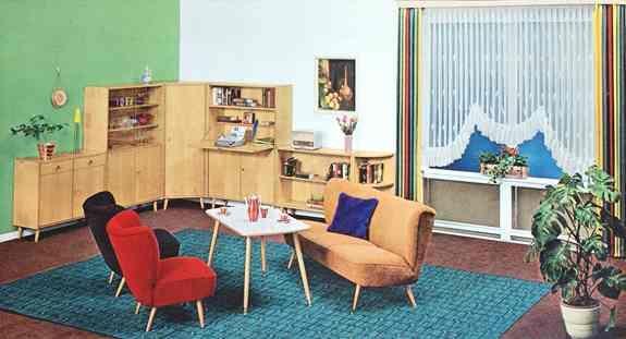 möbel der 60er jahre | 60-as évek magyarországa | pinterest | 60er, Innenarchitektur ideen