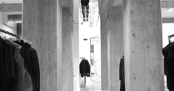 Rick owens fashion store milan places pinterest for Rick owens milan