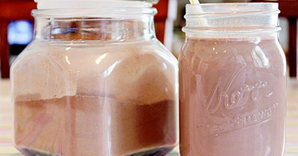 homemade nesquik: 3 ingredients, nothing artificial