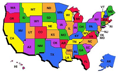 the 50 states map the 50 states map the 50 states map quiz the