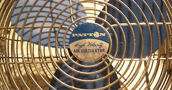 High Velocity Air Circulator : Vintage patton high velocity air circulator fan quot spd