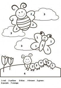 Free Printable Spring Worksheet For Kids Dengan Gambar Buku