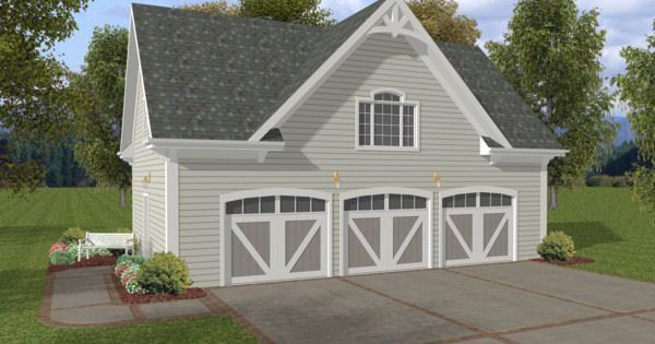 Rustic look garage with room on top the garage plan shop for 4 car garage with apartment on top