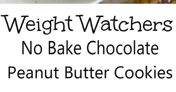 weight watchers no bake chocolate cookies