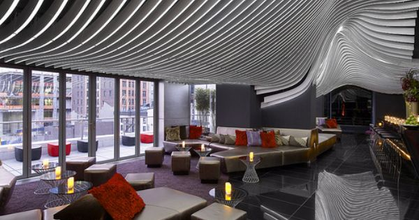 W New York Downtown The Living Room Bar And Terrace Living Room Bar Rooftop Bars Nyc Hotel Room Design
