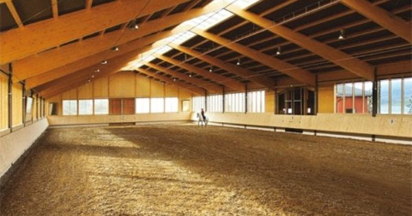 Indoor Arena Lots Of Windows And Doors At Both Ends Ideas For Our Property