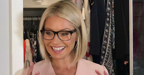 Kelly Ripa S New Evereson Warby Parker Eye Glasses Kelly