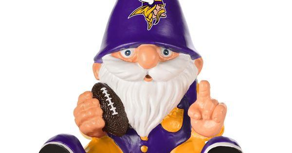 Nfl Sitting Mini Gnome Minnesota Vikings With Images Mini
