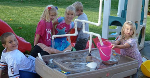 Sometimes Creative Sand Table Into Waterworks Sand Table Kids Playing Waterworks
