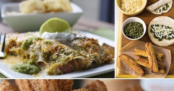 ... Cheese Flautas with Cilantro Pesto, and Churros | Pinterest | Pork E