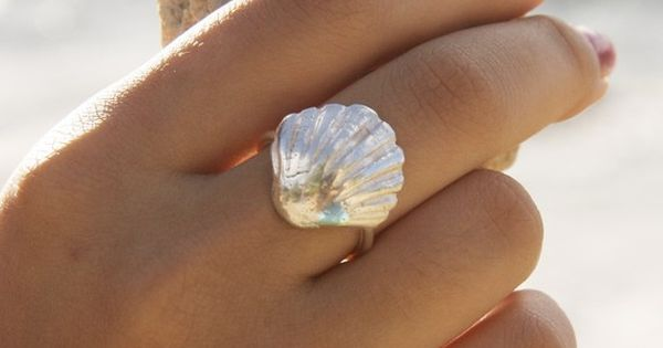 Sterling Silver Seashell Ring. Looking for just a simple and easy signature