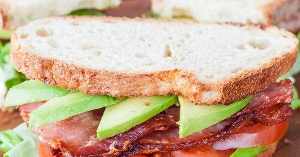 Avocado, Blt sandwich and Main courses on Pinterest