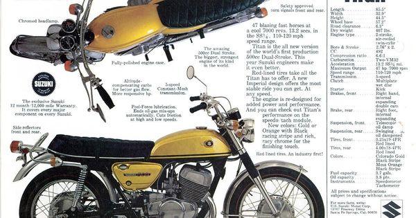 1977 Suzuki Ts 185 Sales Specs Ad Brochure Ebay - Imagez co
