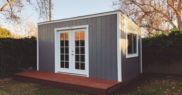 A Lean To Style Shed Turned Editing Suite You Ve Got To