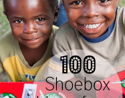 100 Shoebox Ideas for a Boy, ideas for shoebox ministry gifts
