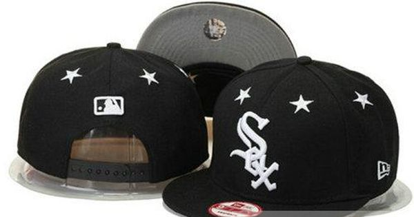 Mlb Chicago White Sox Snapback Hats Adjustable Mitchell And Ness Caps Black White Star 67 Only Us 6 00 Follow Me T Chicago White Sox Snapback Hats White Sock