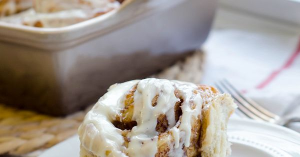 Eggnog Cinnamon Rolls (bread machine recipe)