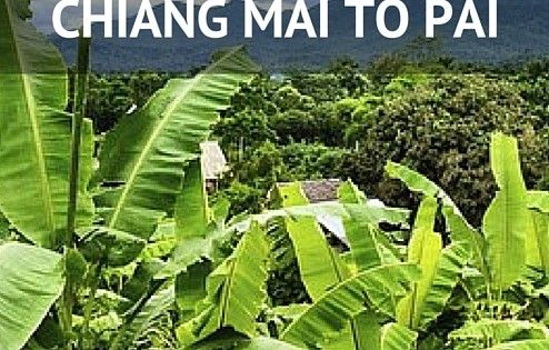 how to get to pai thailand
