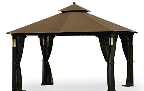 Grand Resort Audio Gazebo Replacement Canopy Top Cover And Netting Set Riplock 350 Amazon Most Trusted Gazebo Replacement Canopy Replacement Canopy Gazebo